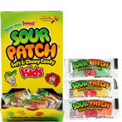 Sour Patch Kids Mini Packs 24ct