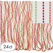Fiesta Metallic Bead Necklaces 30in 24ct37¢ per piece!