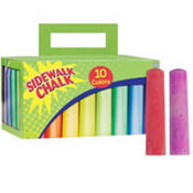 Sidwalk Chalk Box 40pc10¢ per piece!