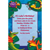 Leap Frog Friends Custom Invitation