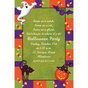 Scary Fun Custom Invitation