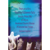 Mostly Ghostly Custom Invitation