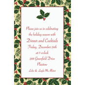 Holiday Treasures Custom Invitation
