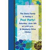 Tropical Breeze Custom Invitation