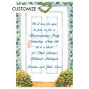 Trellis Front Door Custom Invitation