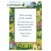 Suburban Wonderland Custom Invitation