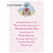 Zee Spa Custom Invitation