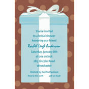 The Special Gift Box Custom Invitation