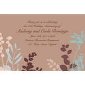 Subdued Silhouette Custom Invitation