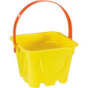 Yellow Square Pail 4in x 5in