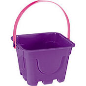 Purple Square Pail 4in x 5in