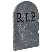 RIP Tombstone Decoration 22in