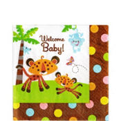 Fisher Price Baby Shower Lunch Napkins 16ct