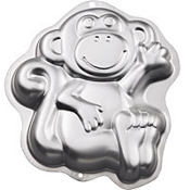 Monkey Cake Pan 13in