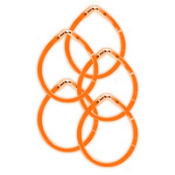 Orange Glow Bracelets 8in 5ct