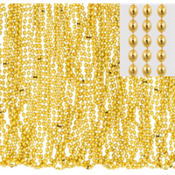 Gold Bead Necklaces 30in 50ct