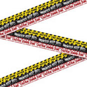 Halloween Fright Tape 30ft