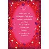 Love Crazy Custom Valentines Day Invitation