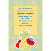 Elmo Baby Custom Baby Shower Invitation