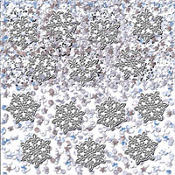 Snowflake Confetti Mix 1 1/8oz