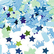 Little Prince Baby Shower Confetti 2 1/2oz