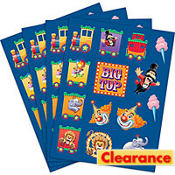 Big Top Stickers 4 Sheets