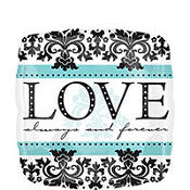 Foil Always & Forever Wedding Balloon 18in