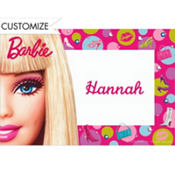 Barbie Custom Thank You Note