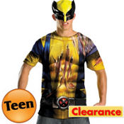 Teen Wolverine T-Shirt and Mask