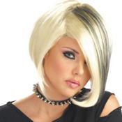 Mood Swing Blonde/Black Wig