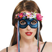 Flower Child Hippie Mask