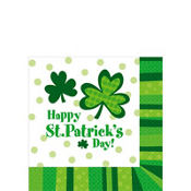 St. Patricks Day Cheer Beverage Napkins 125ct