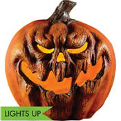 Light-Up Evil Pumpkin