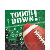 Football Frenzy Lunch Napkins 100ct