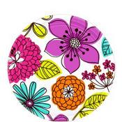 Floral Chic Dessert Plates 8ct