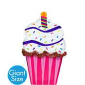 Giant Cupcake Pinata 38in