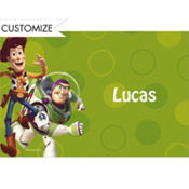 Woody and Friends Custom Thank You Note