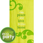May Peace Love Hand Towels 16ct