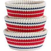 Stars & Stripes Baking Cups 75ct