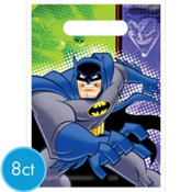 Batman Brave and The Bold Favor Bags 8ct