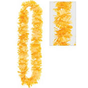 Orange Summer Breeze Lei 40in