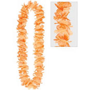 Orange Hawaiian Lei 40in