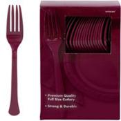 Berry Premium Plastic Forks 100ct