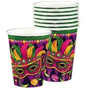 Masquerade Mardi Gras Cups 8ct