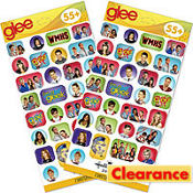 Glee Value Stickers 2 Sheets