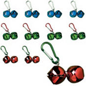 Jingle Bell Backpack Clips 24ct 49¢ per piece!