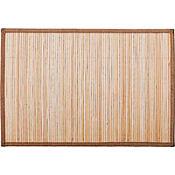 Natural Bamboo Placemat 12in x 18in