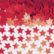 Mini Red Star Confetti