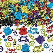 Happy Birthday Type Confetti 5oz