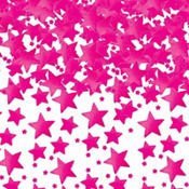 Bright Pink Star Confetti